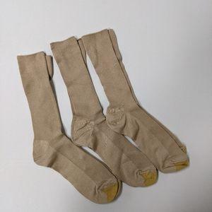 Gold Toe men's crew dress socks